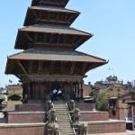Le plus grand temple du Nepal, Baktapur