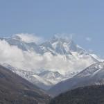Le pic à gauche, c'est l'Everest !